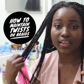 How to Maintain Twist and Braids